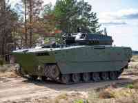 Polish Army Borsuk Amphibious Armored Vehicle