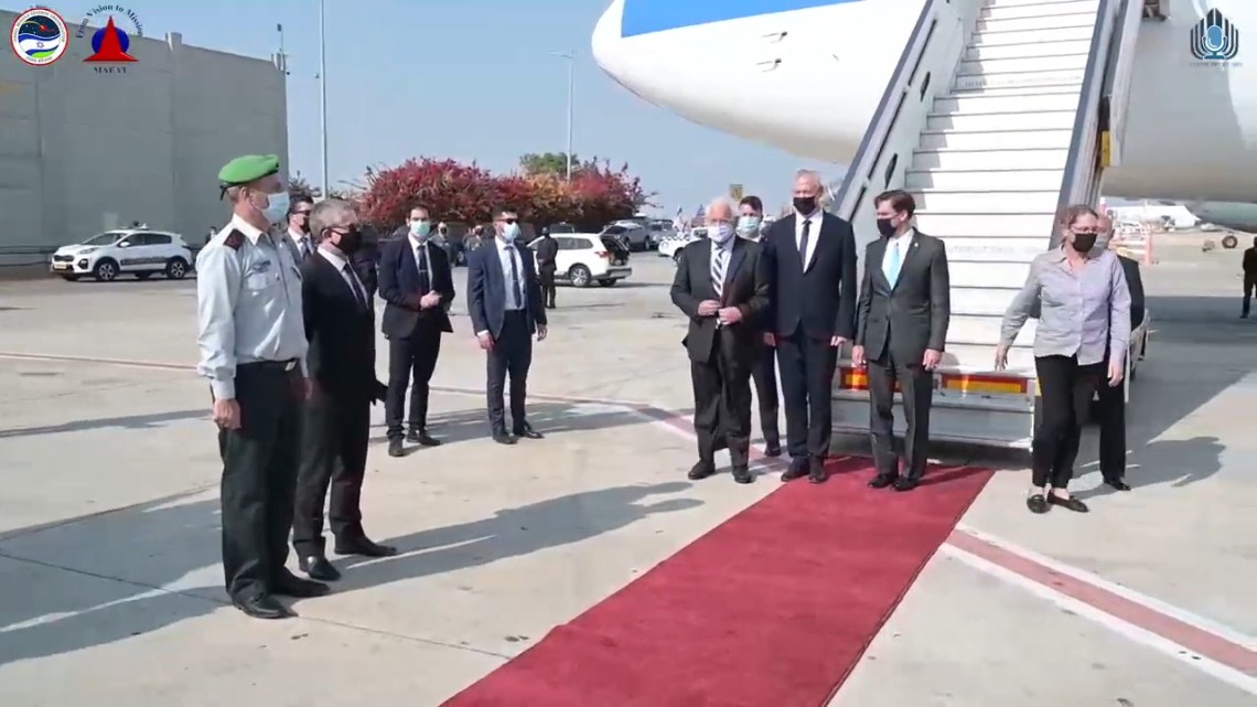 RAFAEL Presents US Defense Secretary in Israel with the 2nd Iron Dome Battery