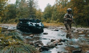 Rheinmetall Introduces Its New A-UGV Mission Master – Armed Reconnaissance