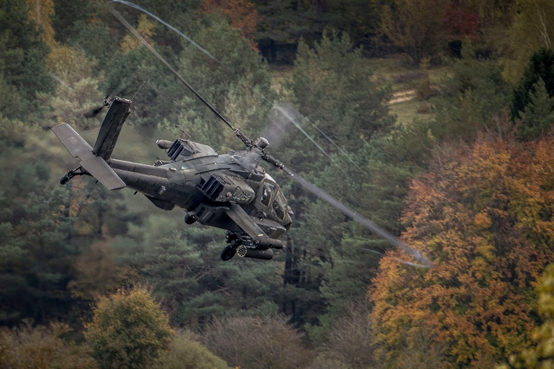 Royal Netherlands Air Force Apache AH-64D Attack Helicopter