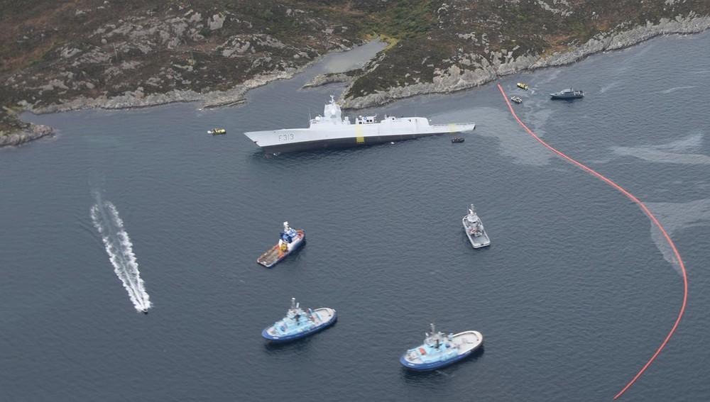 Royal Norwegian Navy HNoMS Helge Ingstad (F313)
