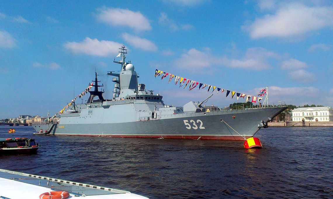 Russian Navy Boykiy Steregushchy-class corvette