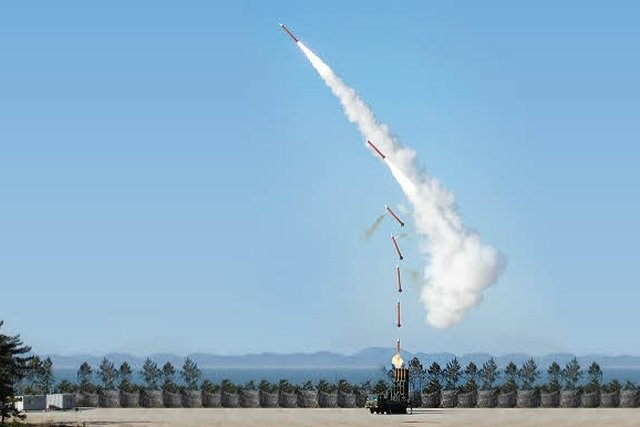 South Korea Deploys Upgraded M-SAM Surface-to-Air Intercept Missile