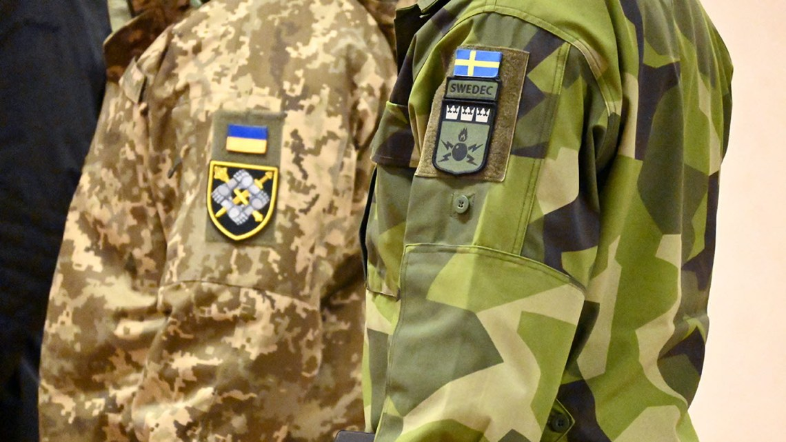 Sweden's reform cooperation with Ukraine was initiated in 1995. (Photo: Daniel Wiberg/Swedish Armed Forces)
