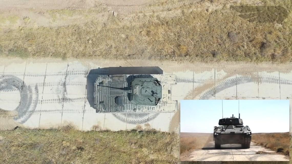 Tulpar Infantry Fighting Vehicle Firing Tests