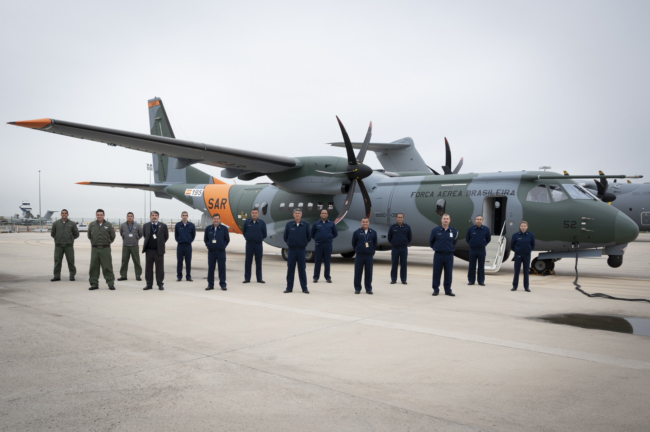 Airbus Delivers Third SC-105 (C-295 SAR) Aircraft to Brazilian Air Force