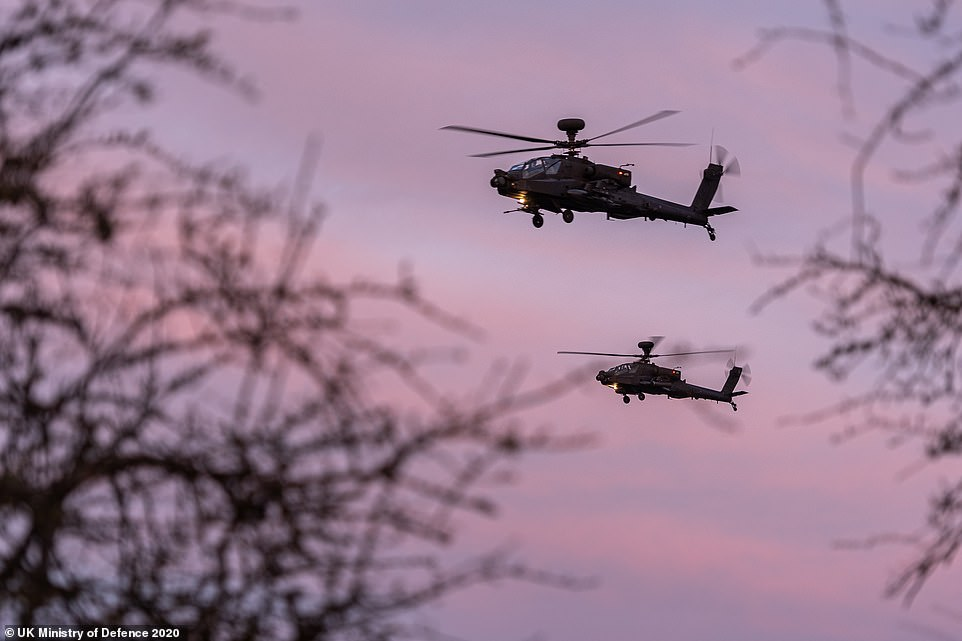 Anglo-French Combined Joint Expeditionary Force Tests Air Assault Allies