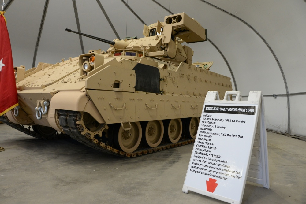 M2A2 Operation Desert Storm (ODS) Bradley Fighting vehicles