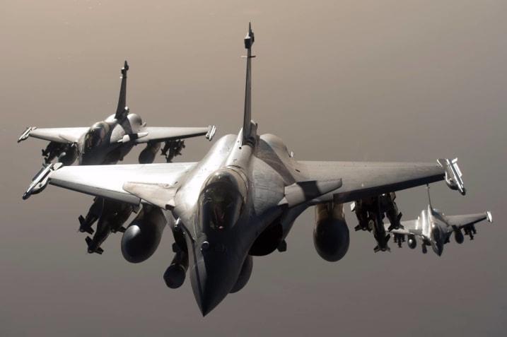 Dassault Rafale fighter jets