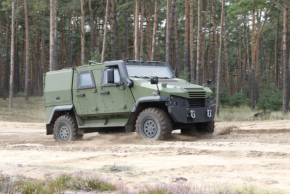 Denmark Orders 57 Eagle Armored Patrol Vehicles from General Dynamics European Land Systems