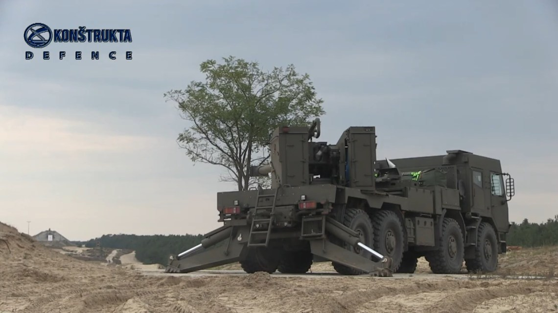 EVA 8x8 155mm Self-Propelled Howitzer