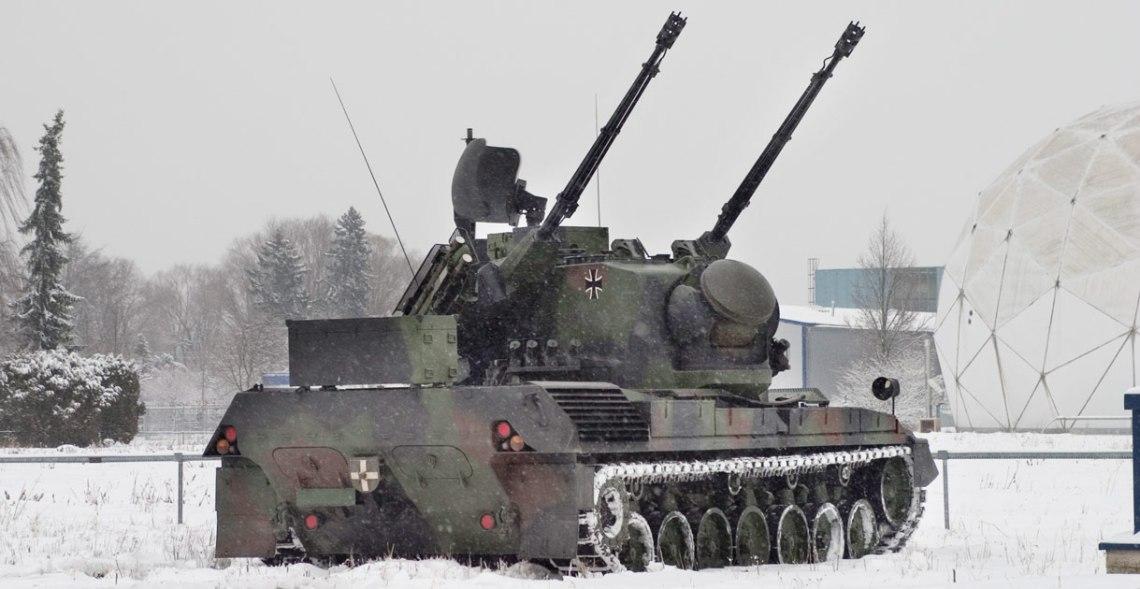 Flakpanzer Gepard 1A2 Self-propelled Anti-aircraft Gun (SPAAG)