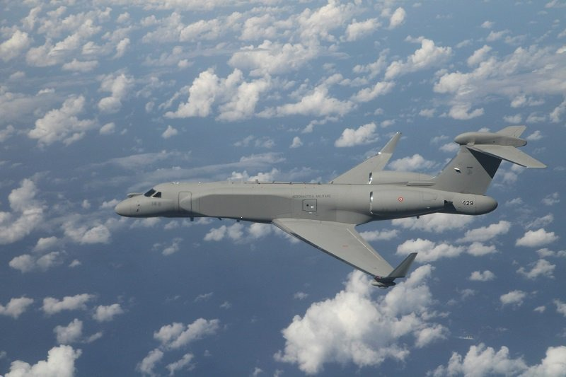 US Clears $550M Sale of Two Gulfstream G550 AISREW to Italian Air Force