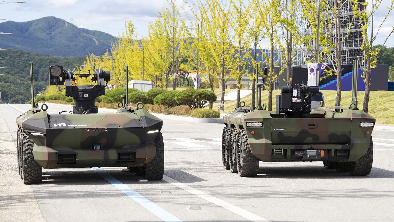 Hyundai Rotem Awarded $68 Million by South Korea's DAPA for Multi-Purpose Unmanned Vehicles