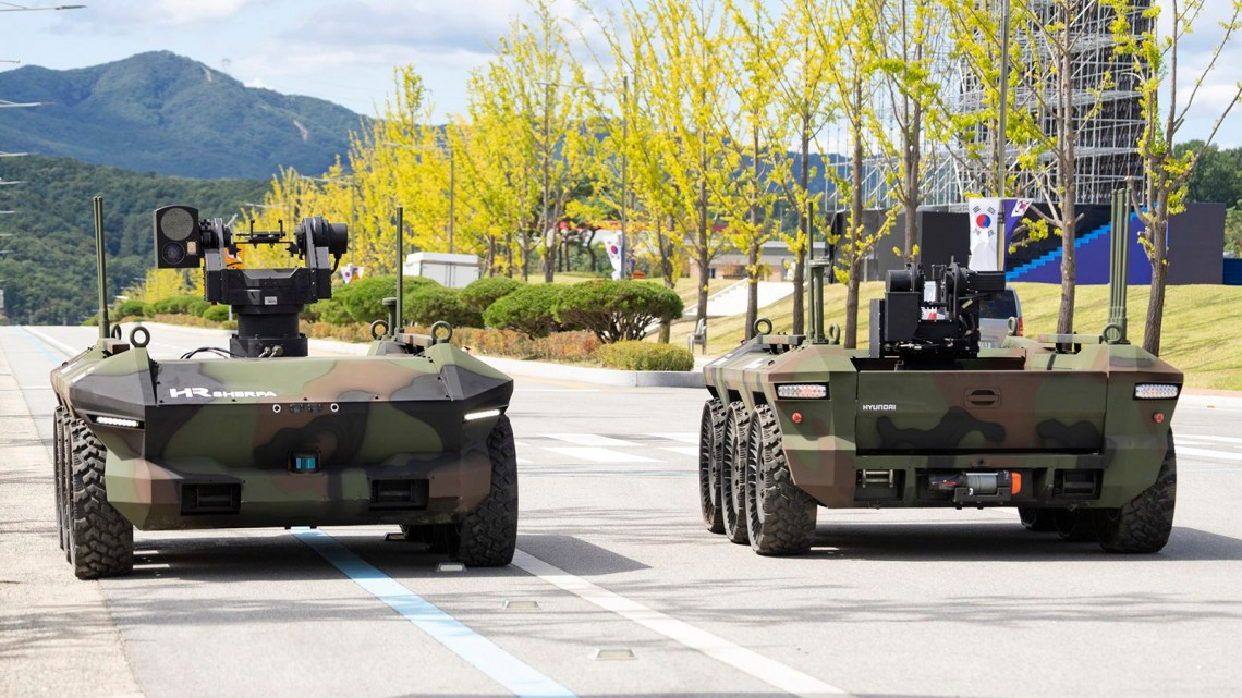 Hyundai Rotem Multi-Purpose Unmanned Vehicles