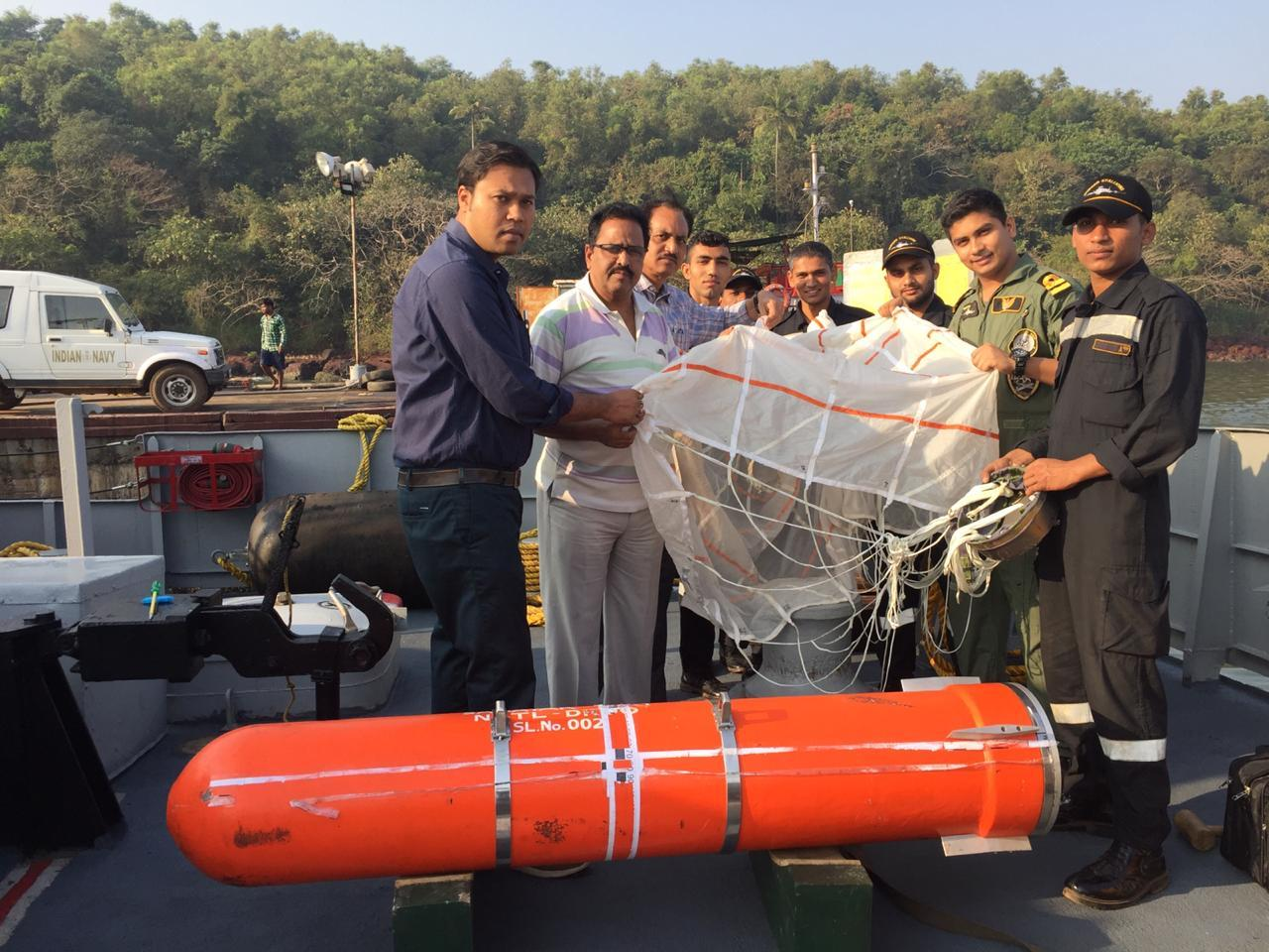 Indian Navy Conduct Maiden Flight Trial of SAHAYAK-NG Air Droppable Container