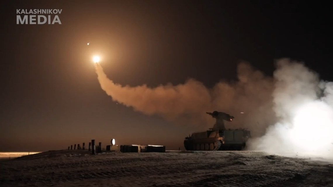 Kalashnikov Successfully Finished Testing of Guided Surface-to-air Missile for STRELA-10M