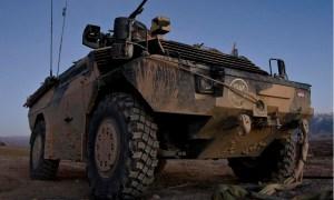 Dutch Army Fennek Armed Reconnaissance Vehicles