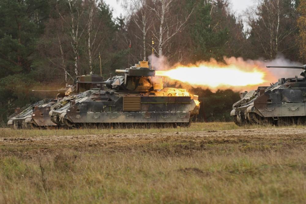 M2A2 Operation Desert Storm (ODS) Bradley Fighting vehicles