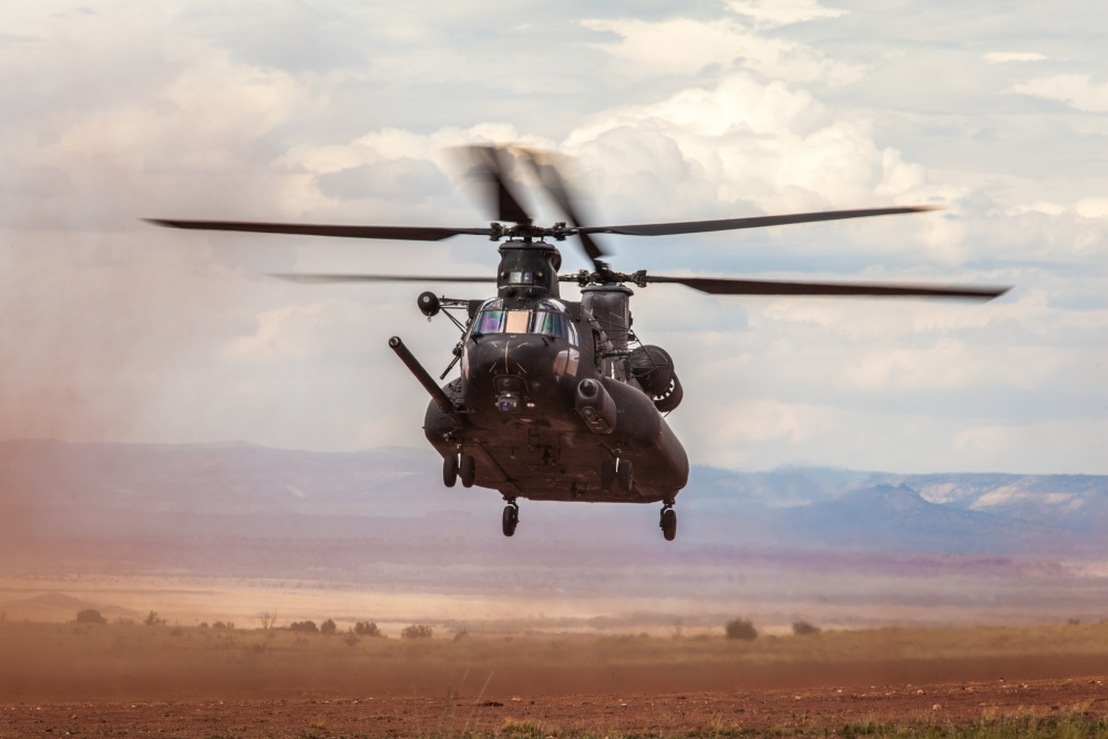 MH-47 Chinook Helicopter