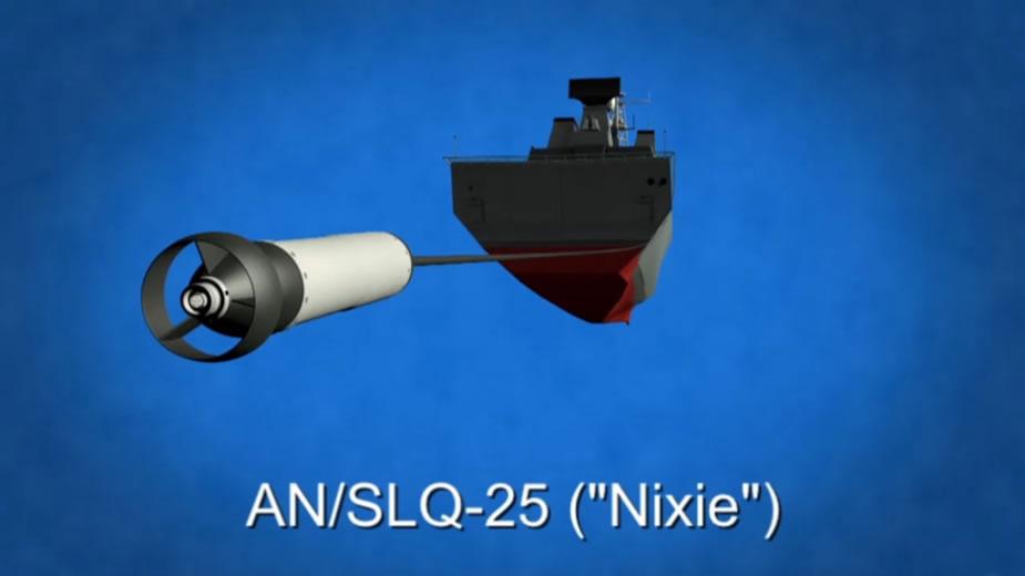 NIXIE Torpedo Countermeasure System