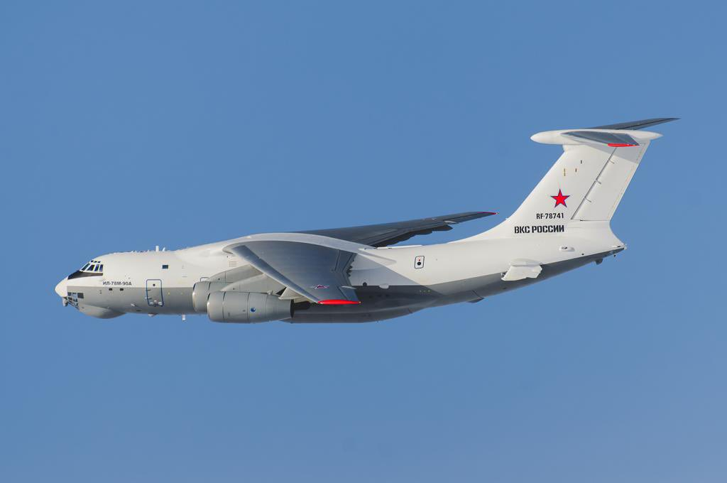 Russian Air Force Orders First Ten Il-78M-90A Tankers