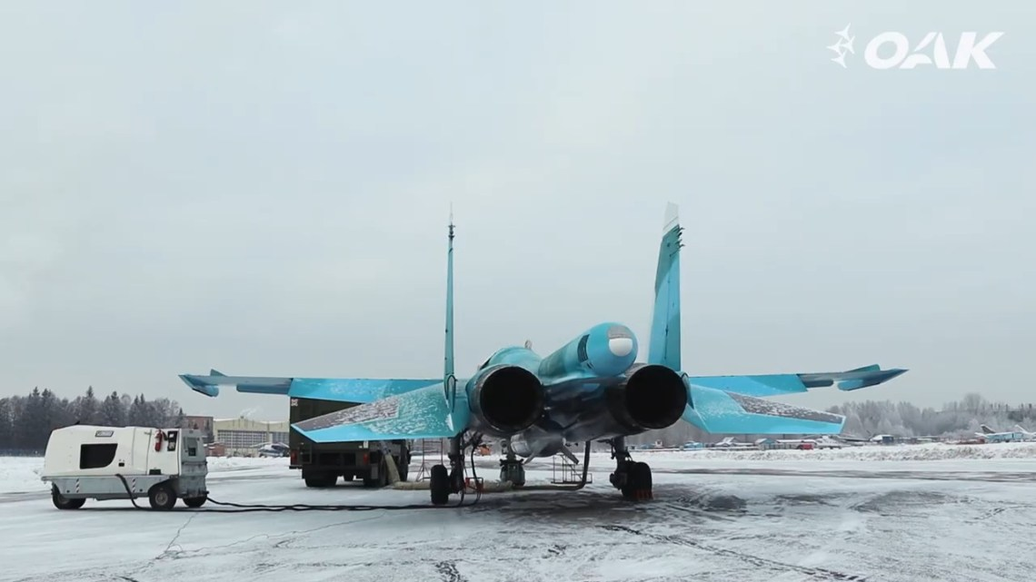 Russian Ministry of Defence Received Two More Sukhoi Su-34 Fighter-Bombers