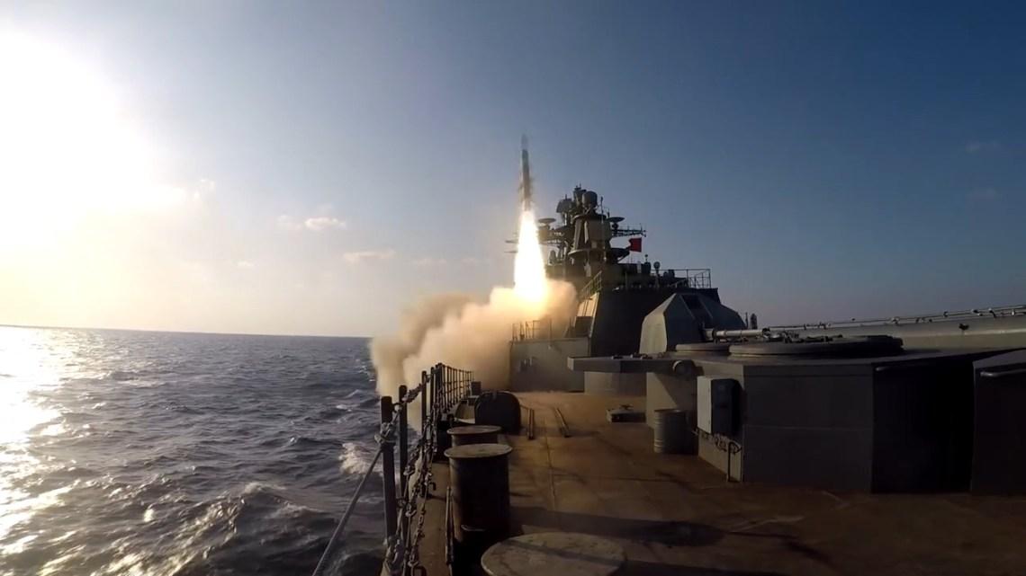 Russian Navy Marshal Shaposhnikov Project 1155M Frigate