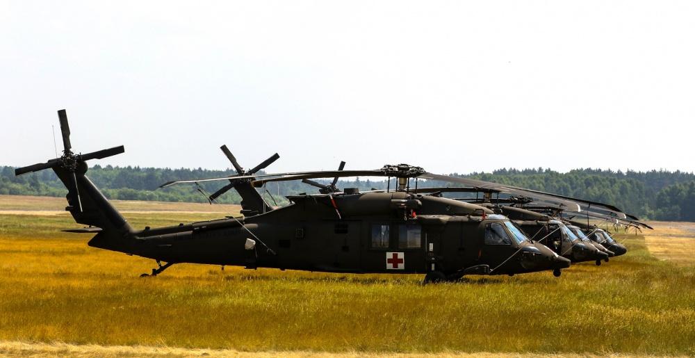 Sikorsky HH-60M Black Hawk Medevac Helicopter