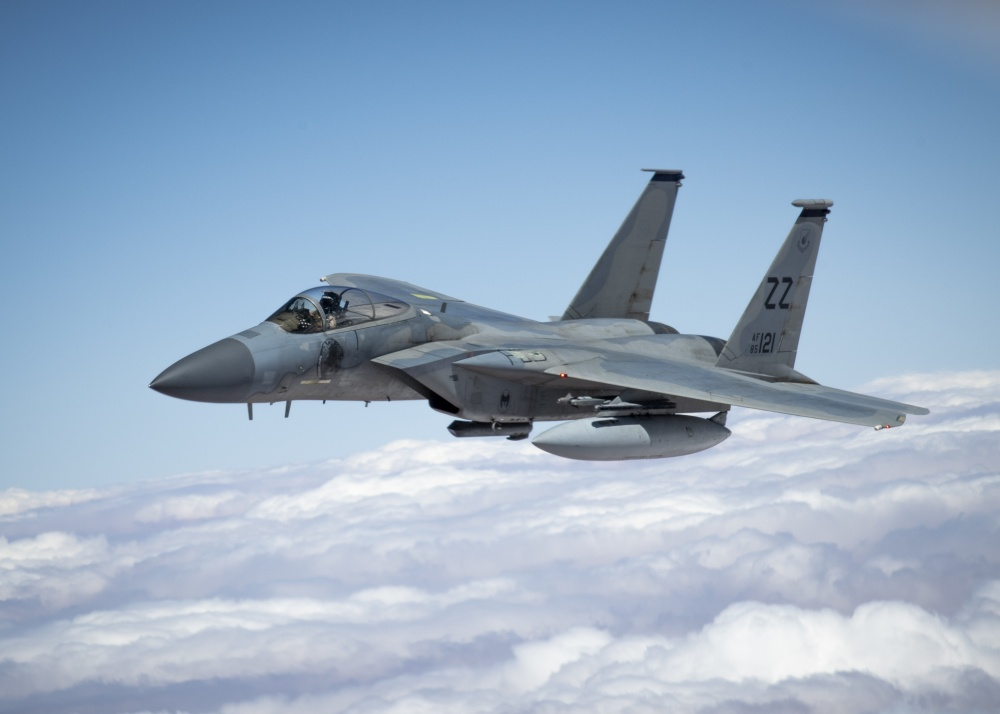 US Air Force F-15E Fighters to Use Recycled Wings from Royal Saudi Air Force F-15S