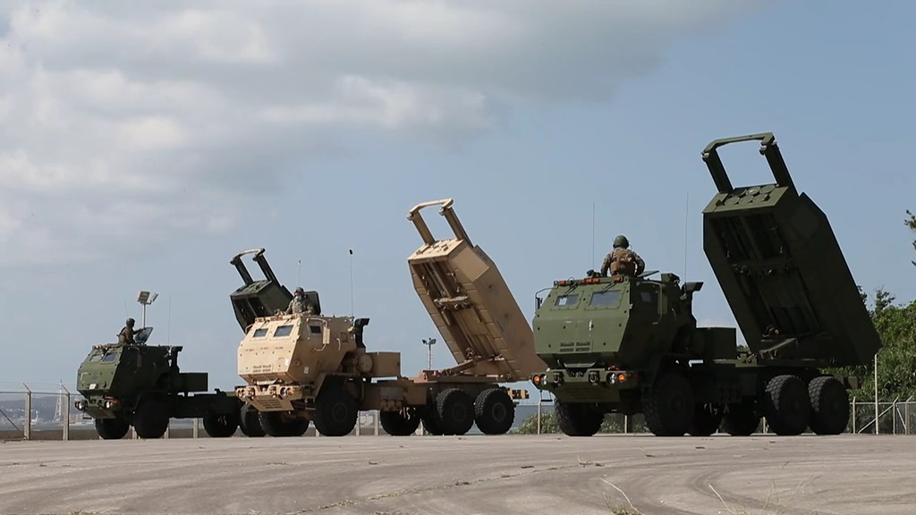 US Marines Execute HIMARS Rapid Infiltration in Support of Keen Sword