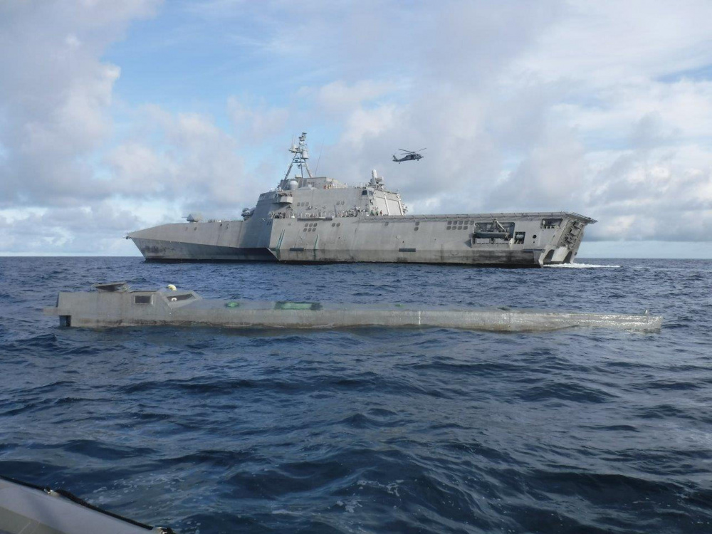 US Navy USS Gabrielle Giffords Interdicts Over $100 Million in Drugs