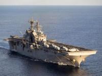 US Navy USS Makin Island Amphibious Ready Group Arrives off Somali Coast