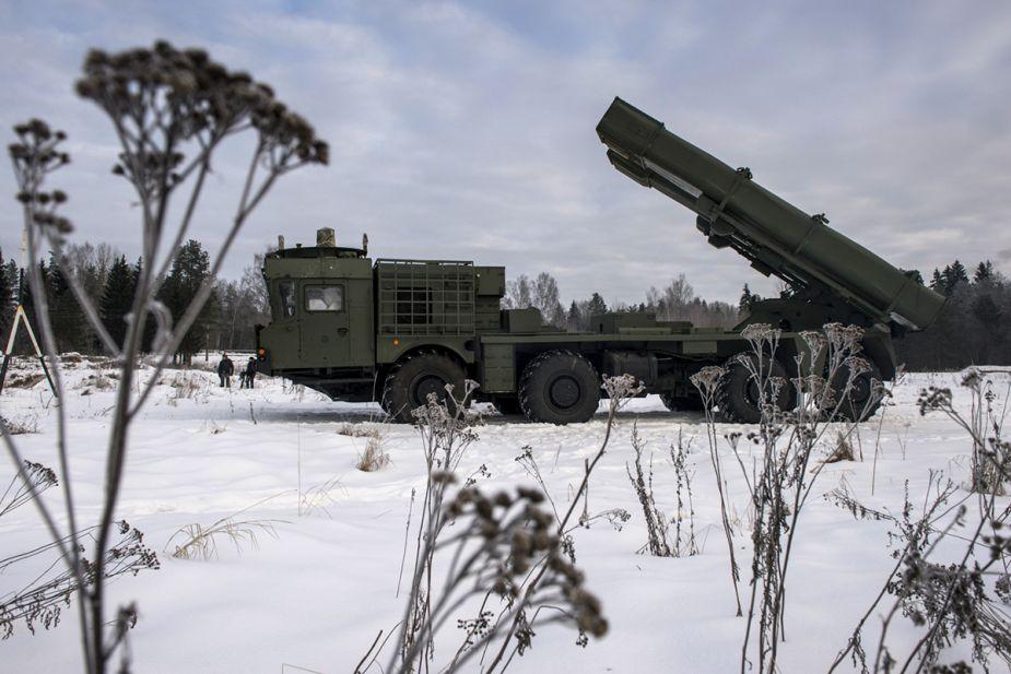 9K515 Multiple Launch Rocket System (MLRS)