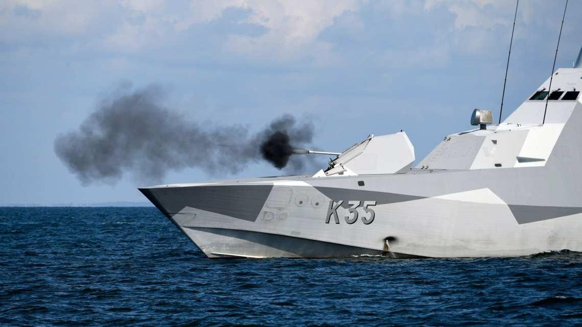 Swedish Navy Karlstad (K35) Visby-class corvette