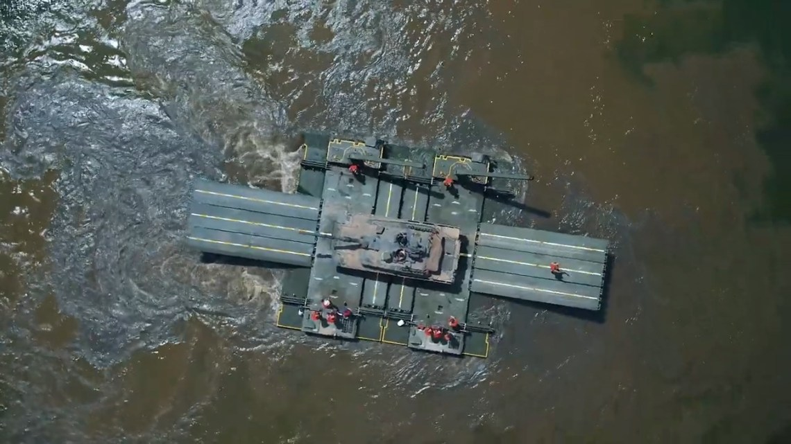 Otter Armored Amphibious Assault Bridge (AAAB)
