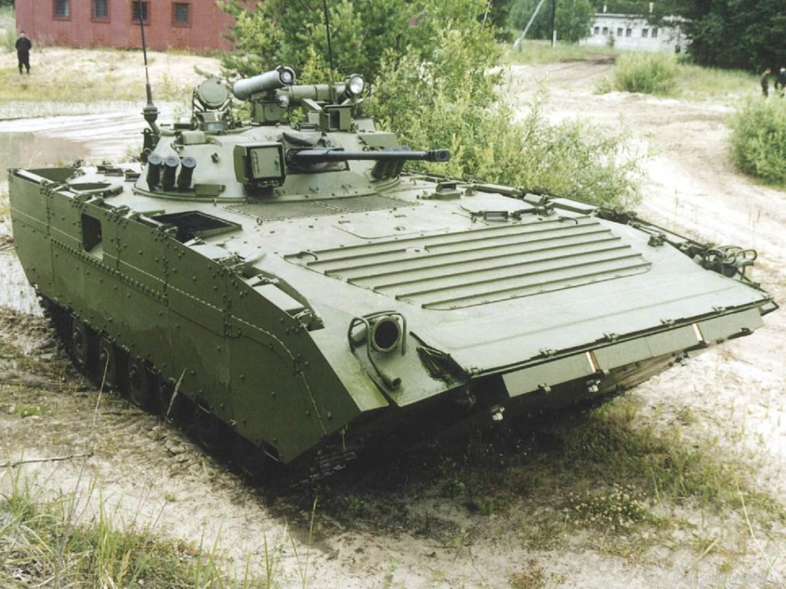 BMP-2M (sb4-2) infantry fighting vehicle