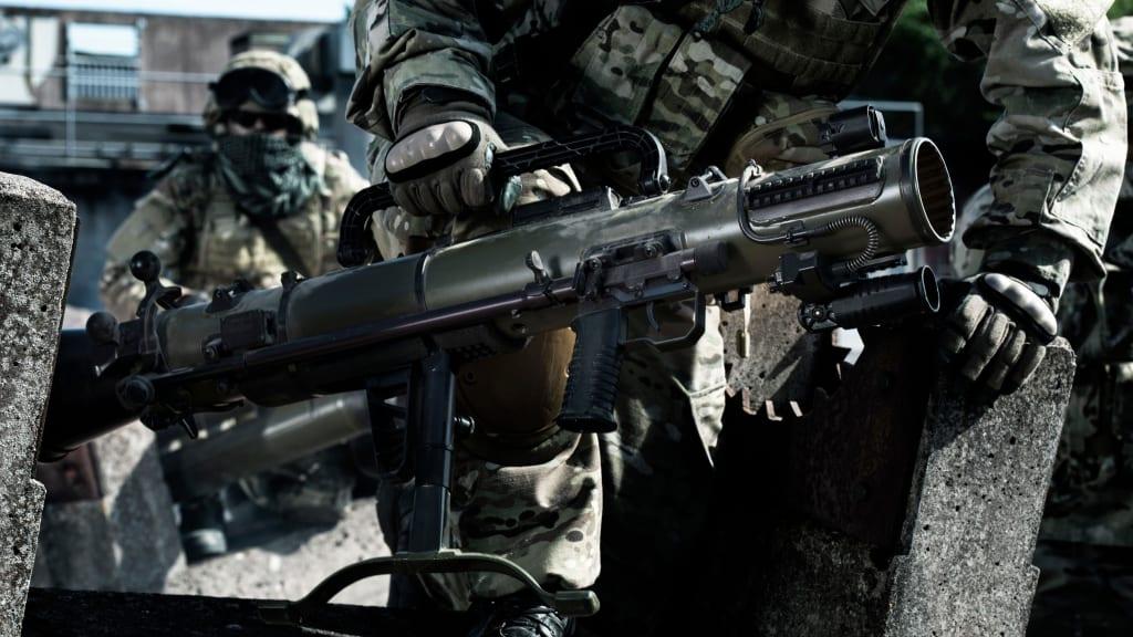 Carl-Gustaf M4 Recoilless Rifle