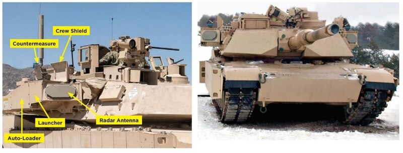 Final Trophy Active Protection Systems Delivered for U.S. Army's Abrams Tanks