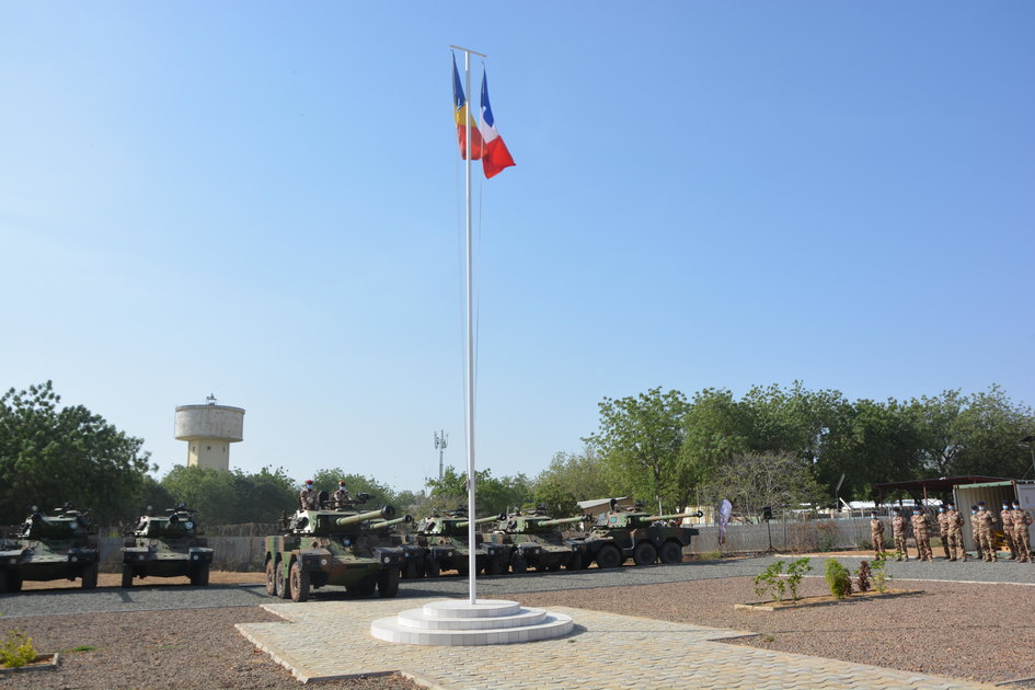 France Government Delivers Nine Panhard ERC-90 Sagaie to Chadian Ground Forces