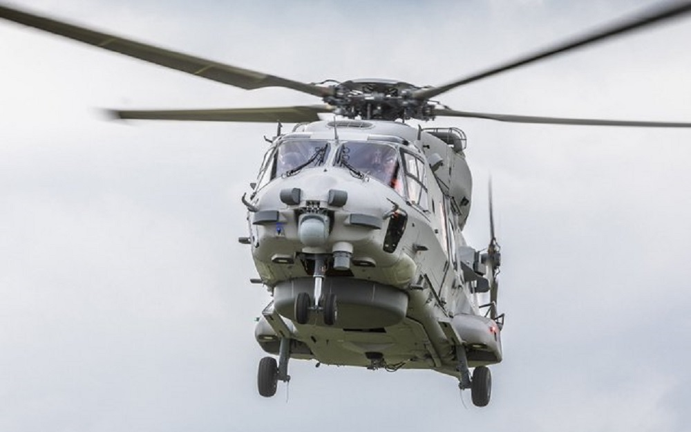 German Navy's new NH90 NTH Sea Lion multipurpose helicopter