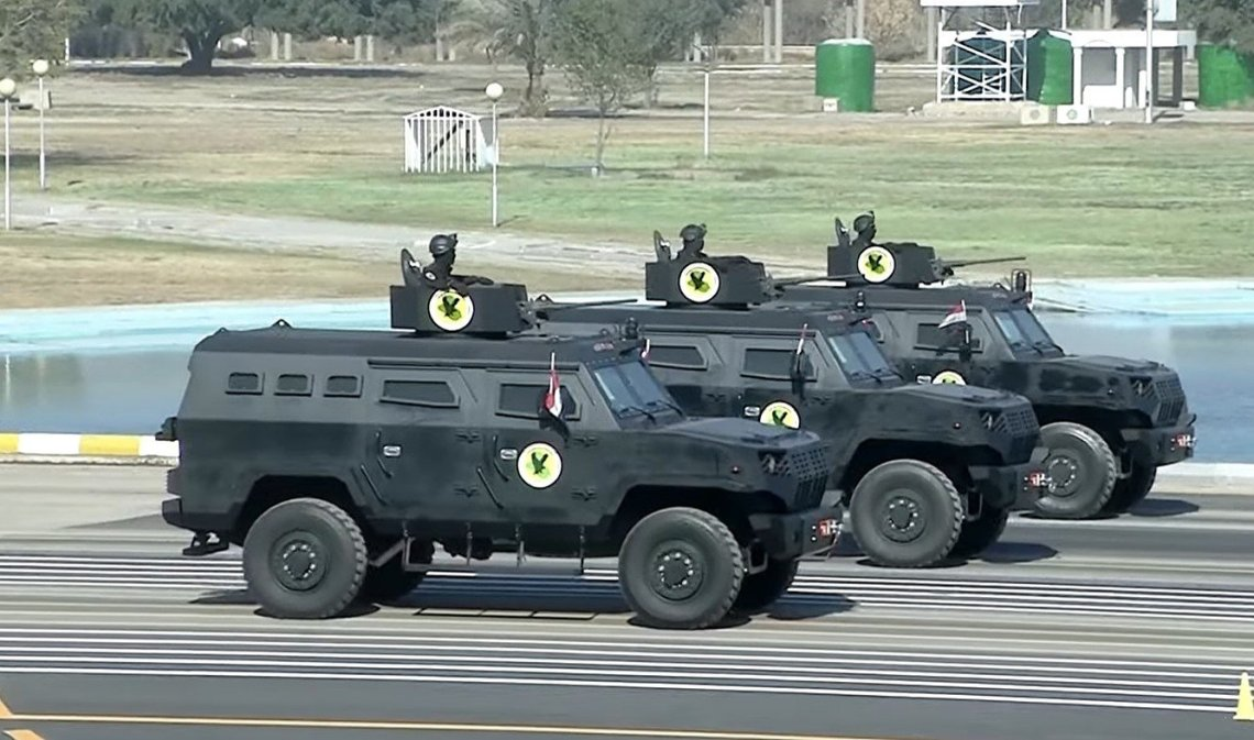 Iraq Unveils New South Korean-made Promoter DAPC-2 Armoured Vehicles