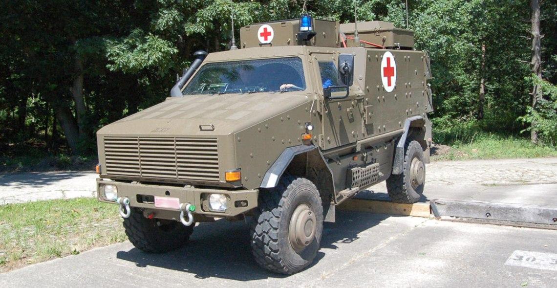 Krauss-Maffei Wegmann Dingo 2 Ambulance Vehicle