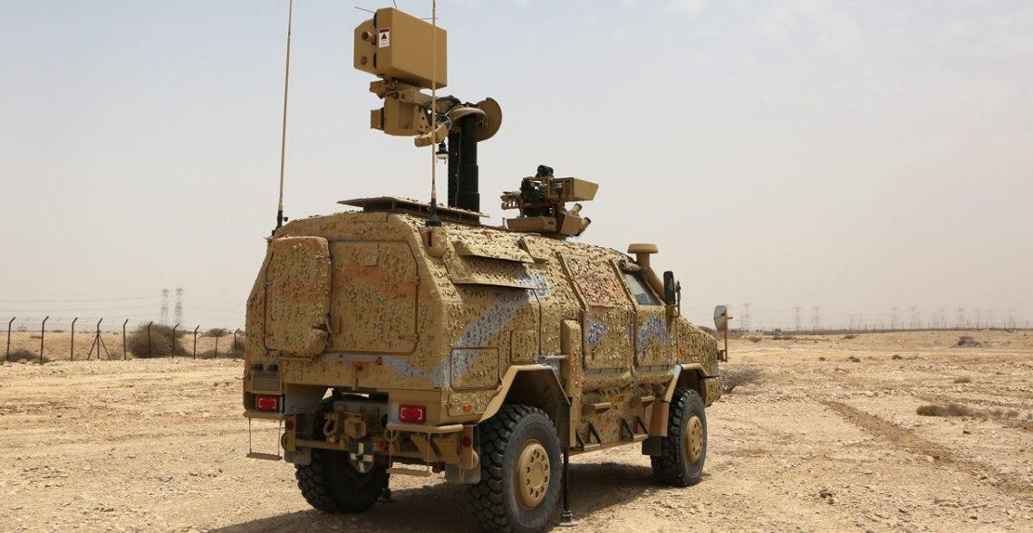 Krauss-Maffei Wegmann Dingo 2 Tactical Radar Ground Surveillance (TRGS)