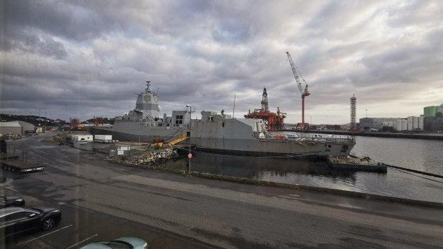 Norwegian Defence Materiel Agency Scraps Frigate Helge Ingstad (F313)