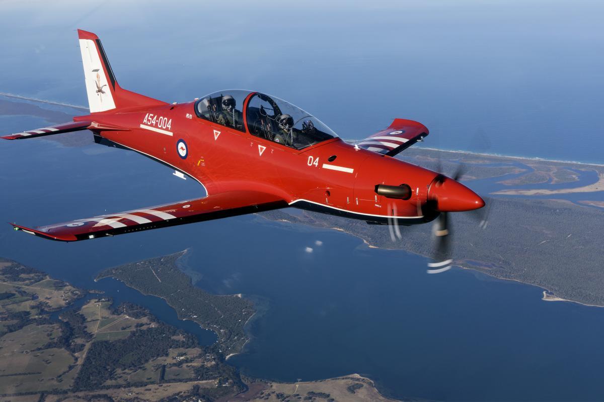 RAAF No. 2 Flying Training School Pilatus PC-21