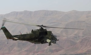 Russian 201st Military Base Conduct Helicopter Convoy Exercise in Tajikistan