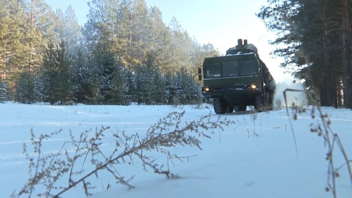 Russian Strategic Missile Forces Conduct Field Training in Irkutsk