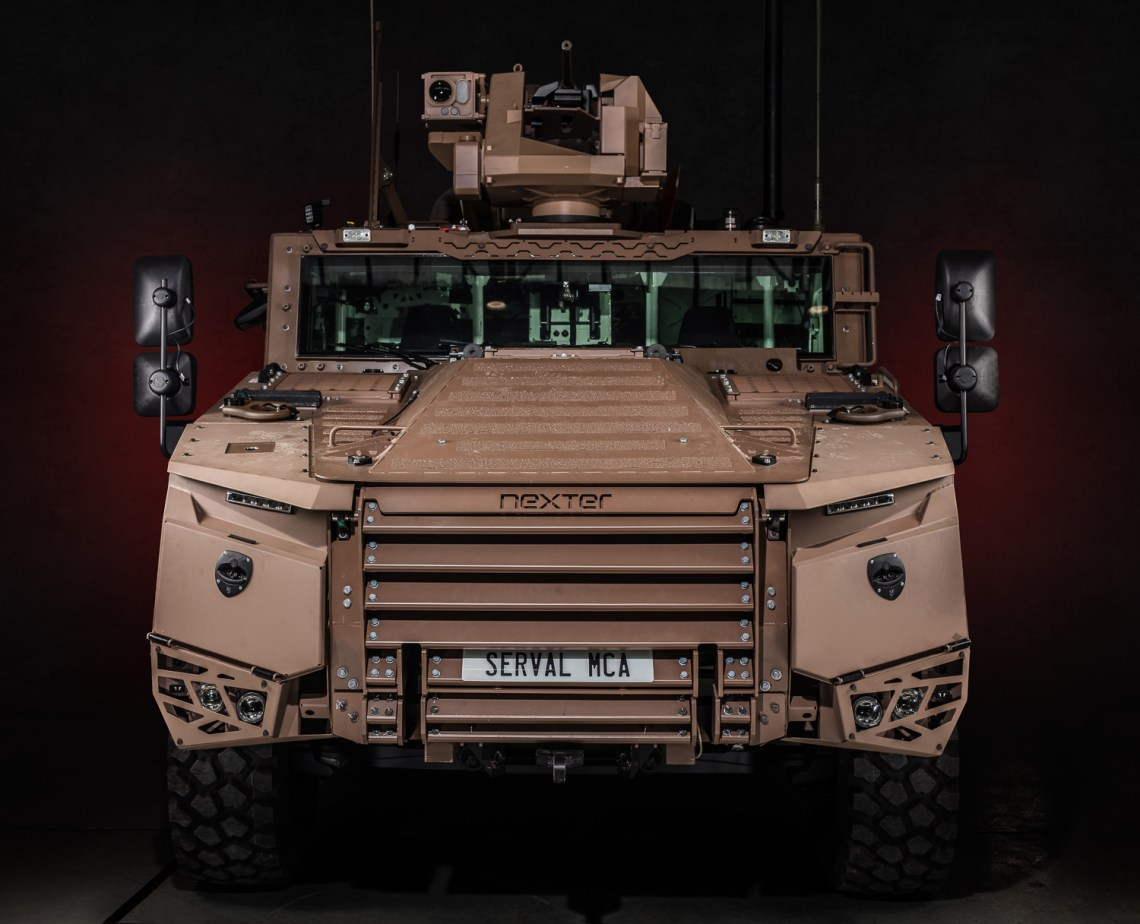 SERVAL Multi-role Armoured Vehicles