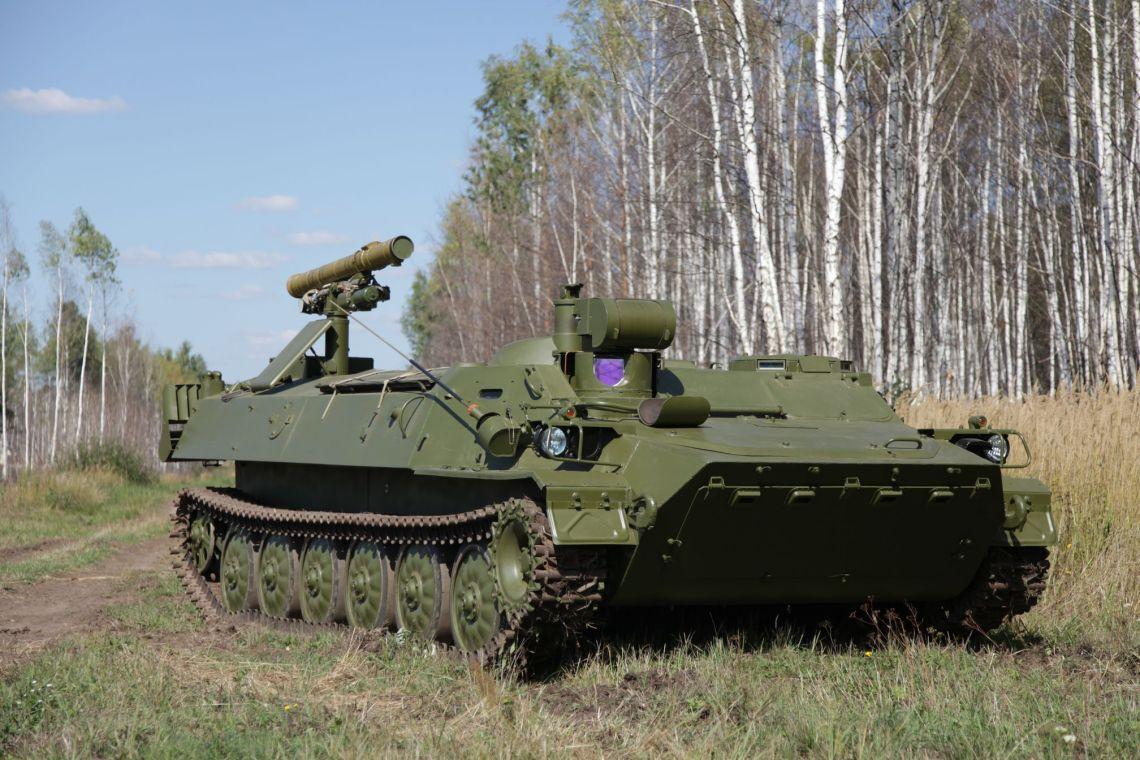 Shturm-SM self-propelled combat vehicles